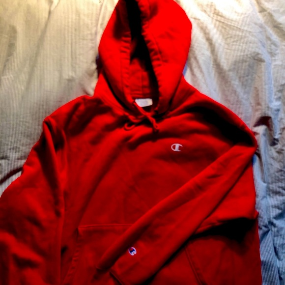 Champion reverse weave (red)